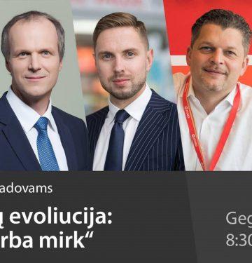 """Konferencija """"Pokyčių evoliucija: keiskis arba mirk"""" jau gegužės 23 dieną"""