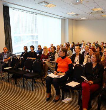 Pokyčių konsultantės Linos Mieliauskienės įžvalgos Personalo konferencijoje, kaip užtikrinti organizacijos sėkmę pokyčių metu.